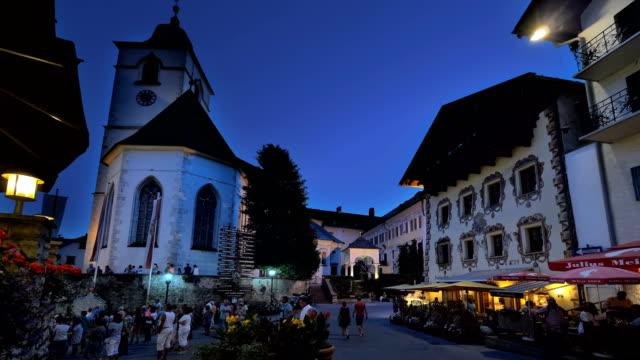 St Wolfgang Square night