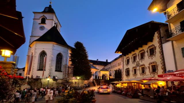 St Wolfgang Square twilight