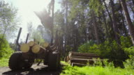 Stapeln der Timber