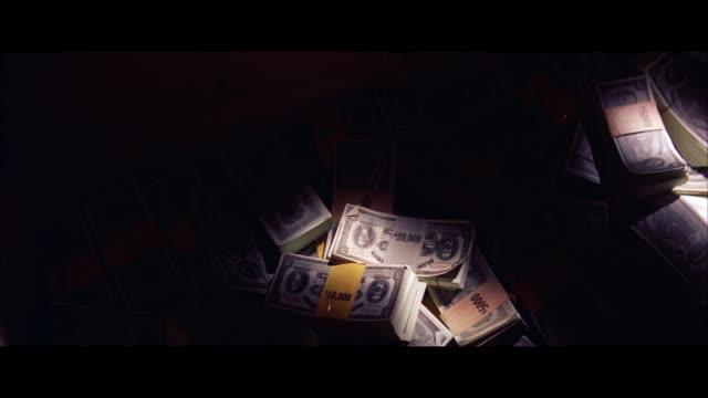 MS PAN Stacks of paper money