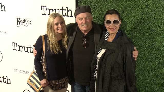 Stacy Keach at the 'Truth' Los Angeles Screening at Samuel Goldwyn Theater on October 5 2015 in Beverly Hills California