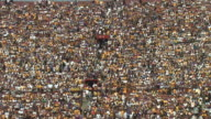WS stadium crowd at sporting event / Los Angeles, California, USA