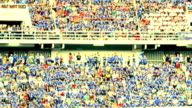 HD Stadium folla facendo onda