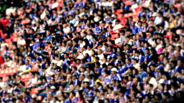 Stadion menigte
