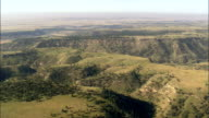 Stage Coach Road  - Aerial View - South Dakota, United States