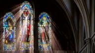 Stained Glass Light Rays
