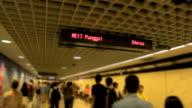 MRT staion in Singapur