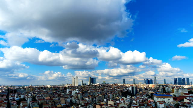 İstanbul Cityscape Time Lapse