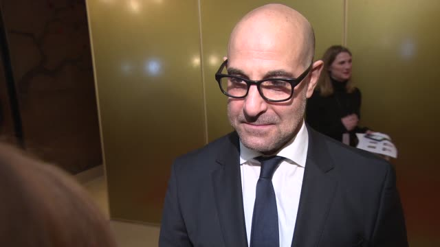 INTERVIEW Stanley Tucci on why Miranda Richardson is such a great actress and Mockingjay at London Critics Circle Awards