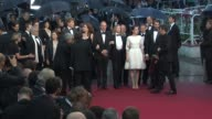 Stanley Weber Anais Demoustier Francis Perrin and Catherine Arditi at Closing Ceremony Therese Desqueyroux Premiere 65th Cannes Film Festival at...