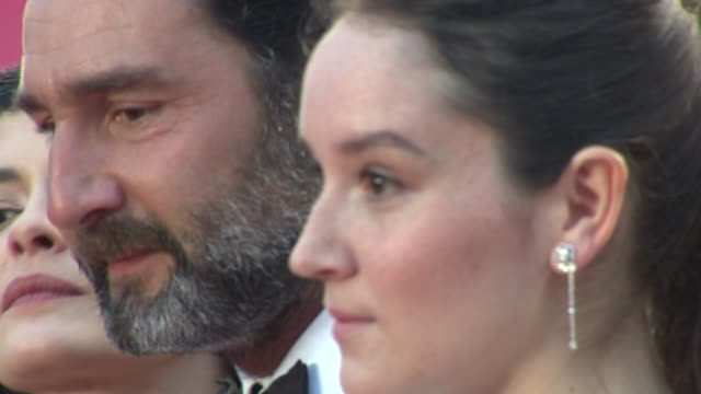 Stanley Weber Anais Demoustier Gilles Lellouche Audrey Tautou Francis Perrin and Catherine Arditi at Closing Ceremony Therese Desqueyroux Premiere...