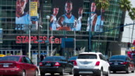Staples Center is a multipurpose sports arena in Downtown Los Angeles and home to the Los Angeles Lakers and the Los Angeles Clippers of the National...