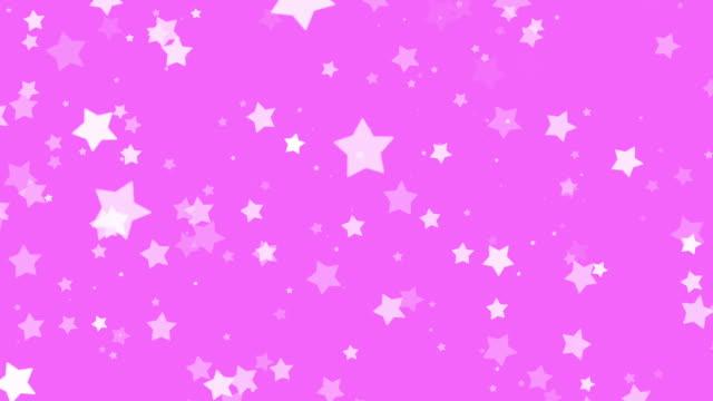 Sterne Partikel flackernden in FullHD.