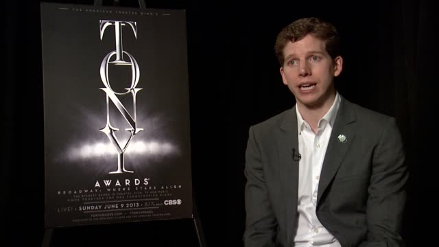 INTERVIEW Stark Sands on feeling validated with his nomination for 'Kinky Boots' at 2013 Tony Awards Meet The Nominees Press Reception at Millenium...