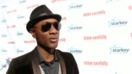 CHYRON Starkey Hearing Foundation's Listen Carefully Concert with Aloe Blacc in Los Angeles CA