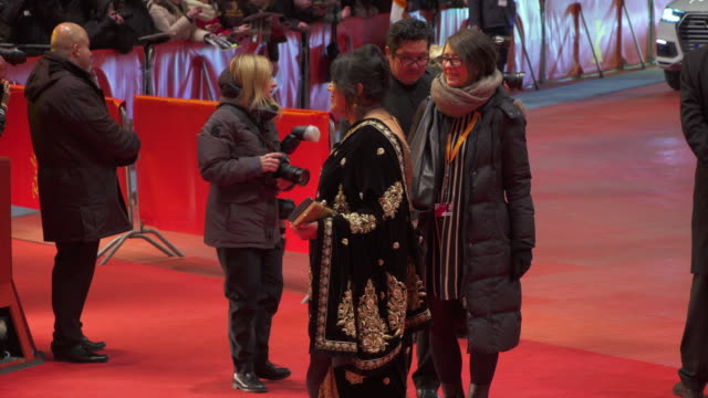 Stars and celebs shine during the 'Viceroy's House' red carpet at Berlinale 2017