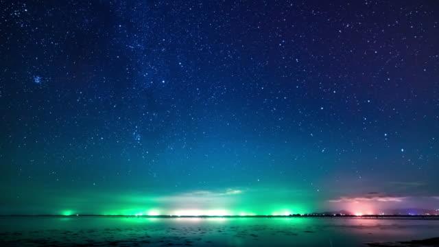 Sternen Zeitraffer 4 K