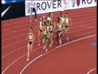 Start of Women's 5000m early pacesetter opens up a wide lead from chasing pack 2004 Crystal Palace Athletics Grand Prix London