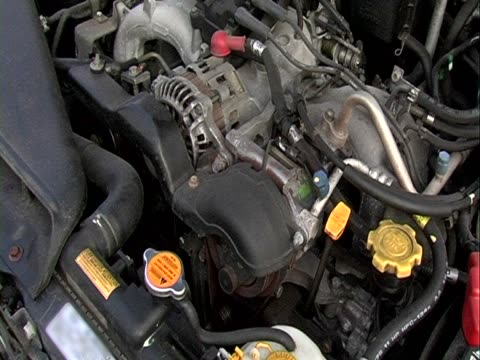 Starting a car engine