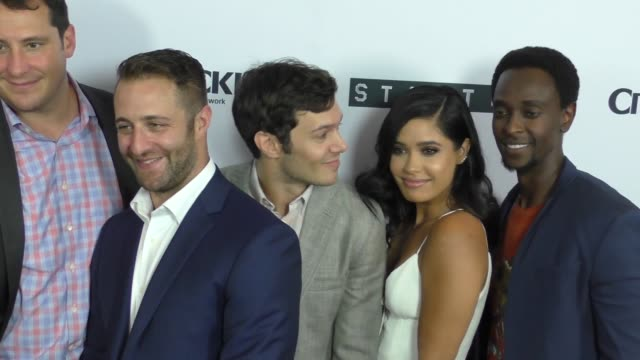 Startup Cast at the Premiere Of Crackle's Startup at London Hotel in West Hollywood in Celebrity Sightings in Los Angeles