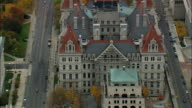 State Capital - Aerial View - New York,  Albany County,  United States