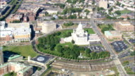 State Capital  - Aerial View - Rhode Island, Providence County, United States