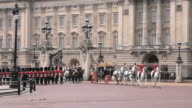 MS PAN State opening of parliament procession at Buckingham Palace AUDIO / London, United Kingdom