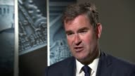 State pension claim age to raise to 68 ENGLAND London INT David Gauke MP interview SOT