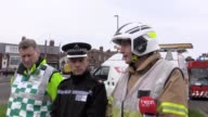 A statement from Superintendent Steve Heatley of Northumbria Police and Brian Forster of Tyne and Wear Fire and Rescue They discuss the blast that...