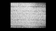 Static Noise Of Flickering Detuned TV Screen