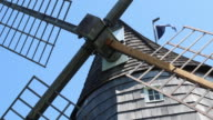 Static shot of the Old Hook Windmill