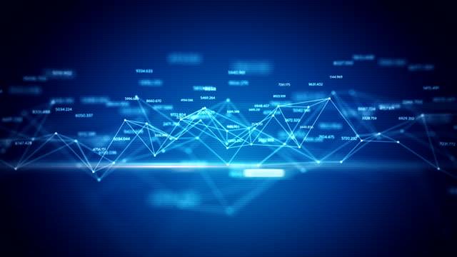 Statistics grid - blue