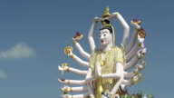 Statue of 18 armed Guanyin, Goddess of Mercy