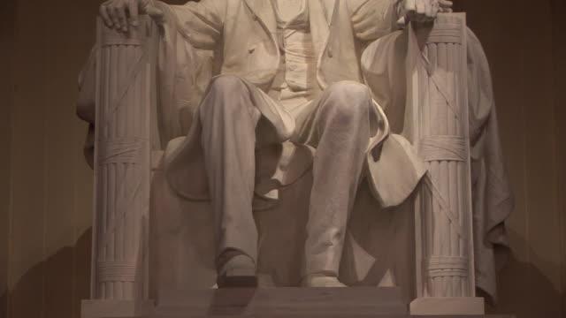 MS, PAN, Statue of Abraham Lincoln, Lincoln Memorial, Washington DC, Washington, USA
