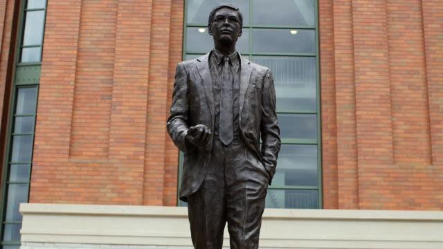 Statue of Bud Selig, Miller Park, Milwaukee