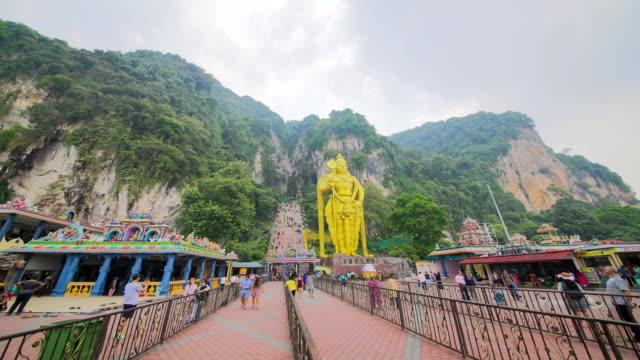 Statue of hindu god Muragan