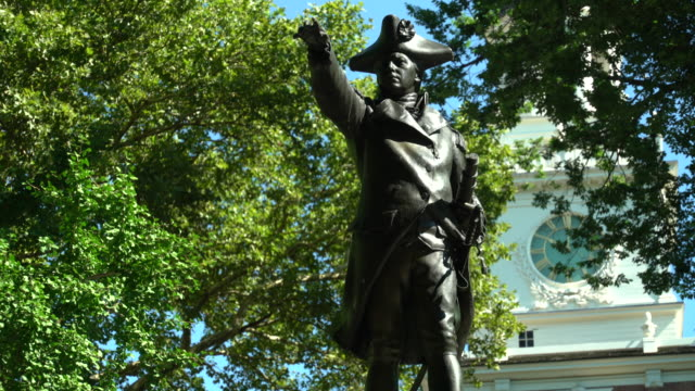 Statue of John Barry, Independence Hall