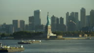Statue Of Liberty From Upper Bay NYC