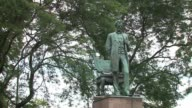 WGN Statue of Lincoln in Chicago a part of Statue Stories Chicagoa project in which Chicago's celebrated actors writers and theatres gave voice to...