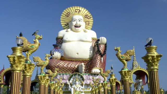 Statue of the Laughing Buddha (Chinese Buddha statue)
