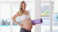 Tijdens haar zwangerschap gezond blijven