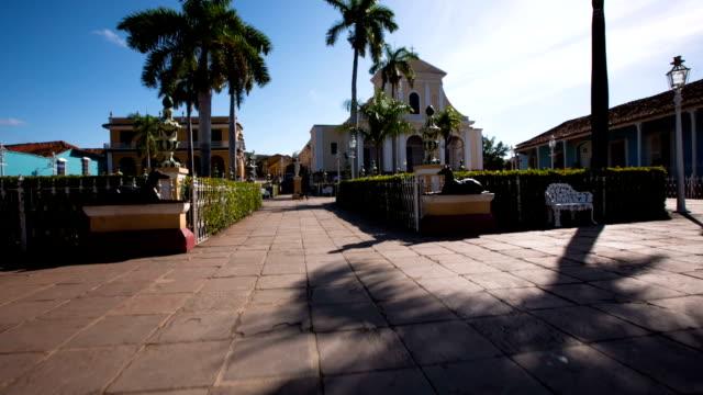 Steady Cam Plaza Mayor in Trinidad , Cuba