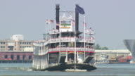 WS Steam boat crusise on river / New Orleans, Louisiana, United States