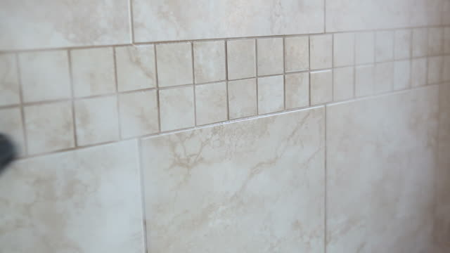 Steam Cleaning Bathroom Tile Wall