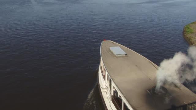 FAST MOTION, HA, WS, Steamboat St Georg on Lake Alster, Hamburg, Germany