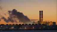 Steaming Factory in Newark Bay