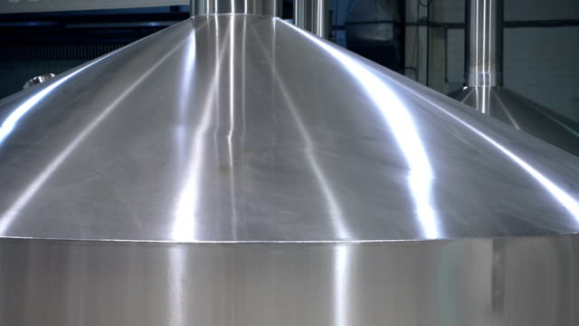 Stahltanks für das zu Bierbrauen und Lagerung