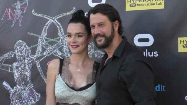 Stefan Kapicic Ivana Horvat at the 2017 Artemis Women In Action Film Festival Opening Night Gala on April 20 2017 in Beverly Hills California