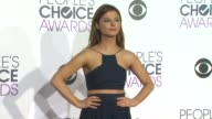Stefanie Scott at the People's Choice Awards 2016 at Nokia Plaza LA LIVE on January 6 2016 in Los Angeles California