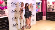 CLEAN Stella Maxwell Lily Aldridge Elsa Hosk at Victoria's Secret Easy Collection Launch at Victoria's Secret SoHo on July 26 2016 in New York City